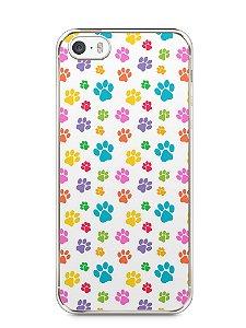 Capa Iphone 5/S Patinhas Coloridas #1