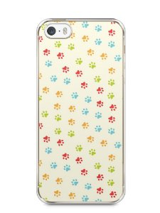 Capa Iphone 5/S Patinhas Coloridas #2