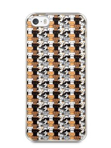 Capa Iphone 5/S Gatos
