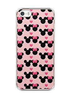 Capa Iphone 5/S Mickey e Minnie
