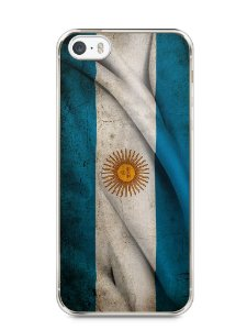 Capa Iphone 5/S Bandeira da Argentina