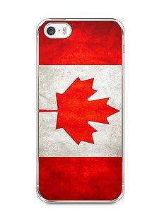 Capa Iphone 5/S Bandeira do Canadá