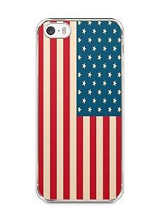 Capa Iphone 5/S Bandeira EUA