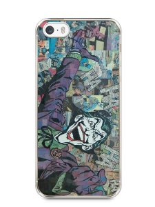 Capa Iphone 5/S Coringa Comic Books