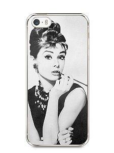 Capa Iphone 5/S Audrey Hepburn #1