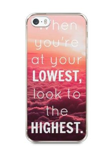 Capa Iphone 5/S Frase #1