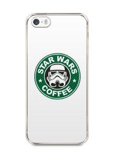 Capa Iphone 5/S Star Wars Coffee