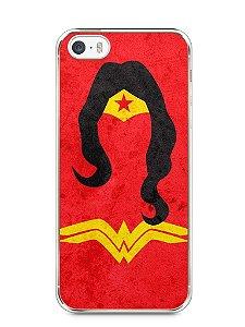 Capa Iphone 5/S Mulher Maravilha