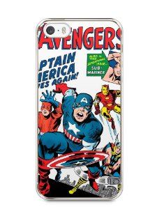 Capa Iphone 5/S The Avengers