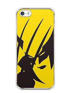 Capa Iphone 5/S Wolverine