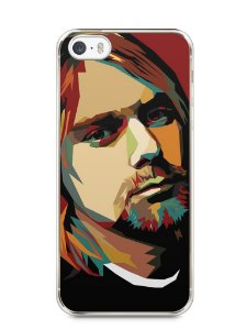 Capa Iphone 5/S Kurt Cobain