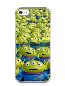 Capa Iphone 5/S Aliens Toy Story #2