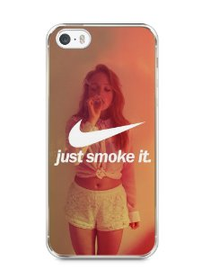 Capa Iphone 5/S Just Smoke It