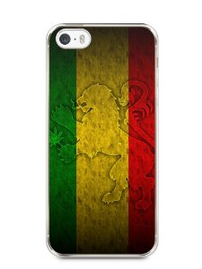 Capa Iphone 5/S Rasta Weed #1