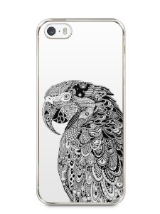 Capa Iphone 5/S Arara Artística