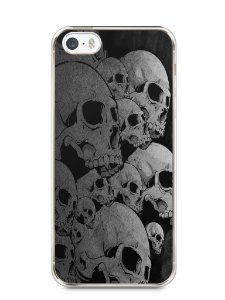 Capa Iphone 5/S Caveiras