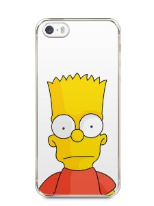 Capa Iphone 5/S Bart Simpson