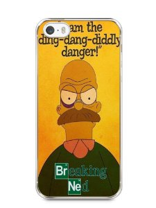 Capa Iphone 5/S Homer Simpson Breaking Bad