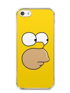 Capa Iphone 5/S Homer Simpson Face