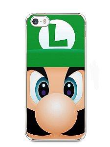 Capa Iphone 5/S Luigi Irmão do Super Mario