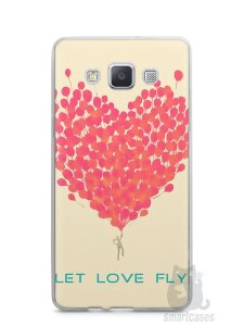 Capa Samsung A5 Deixe o Amor Voar