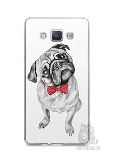 Capa Samsung A5 Cachorro Pug Estiloso #2