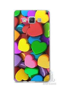 Capa Samsung A5 Corações
