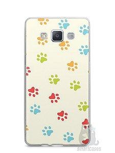 Capa Samsung A5 Patinhas Coloridas #2