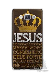 Capa Samsung A5 Jesus #4