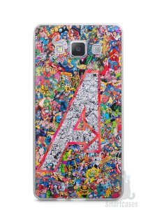 Capa Samsung A5 The Avengers Comic Books