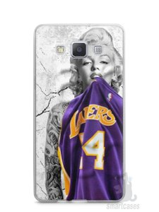 Capa Samsung A5 Marilyn Monroe Lakers