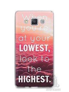 Capa Samsung A5 Frase #1