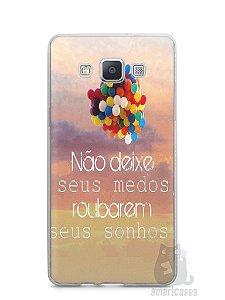 Capa Samsung A5 Frase #3