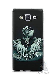 Capa Samsung A5 Popeye Jogando Poker