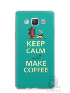 Capa Samsung A5 Keep Calm and Make Coffee