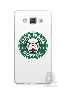 Capa Samsung A5 Star Wars Coffee
