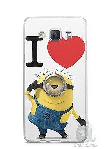 Capa Samsung A5 I Love Minions