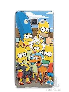 Capa Samsung A5 Família Simpsons #1