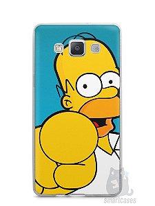 """Capa Samsung A5 Homer Simpson """"Escolho Você"""""""