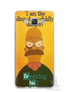 Capa Samsung A5 Homer Simpson Breaking Bad