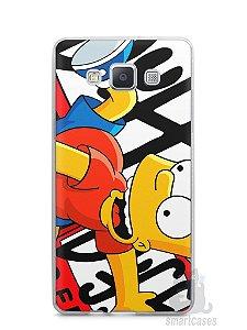 Capa Samsung A5 Bart Simpson Duff