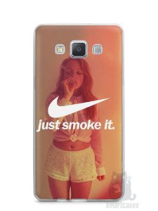 Capa Samsung A5 Just Smoke It
