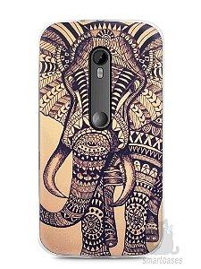 Capa Moto G3 Elefante Tribal