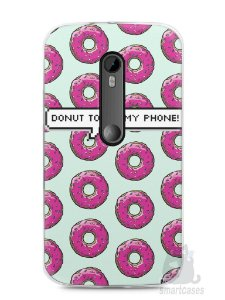 Capa Moto G3 Donut Touch My Phone