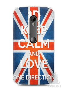 Capa Moto G3 One Direction #3