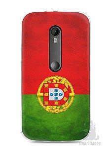 Capa Moto G3 Bandeira de Portugal