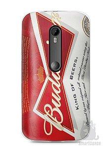 Capa Moto G3 Cerveja Budweiser