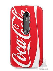 Capa Moto G3 Coca-Cola