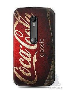 Capa Moto G3 Coca-Cola Classic