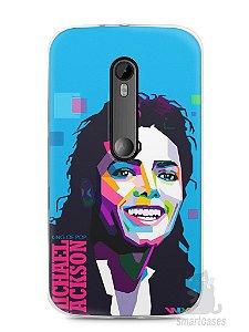 Capa Moto G3 Michael Jackson #2